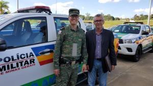 Nova viatura destinada à Polícia Militar